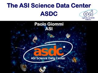 The ASI Science Data  Center ASDC