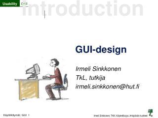 GUI-design