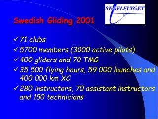 Swedish Gliding 2001