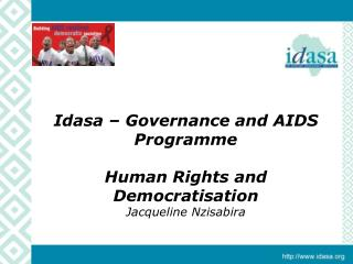 Idasa   Governance and AIDS Programme  Human Rights and Democratisation  Jacqueline Nzisabira