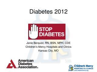 Diabetes 2012