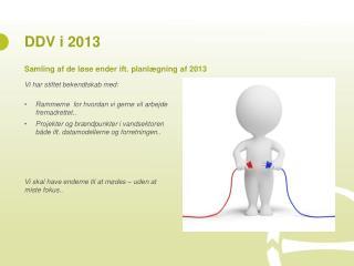 DDV i 2013