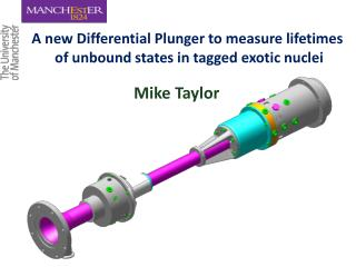 A new Differential Plunger to measure lifetimes  of unbound states in tagged exotic nuclei