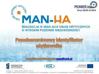 Pseudoanonimowy  identyfikator użytkownika