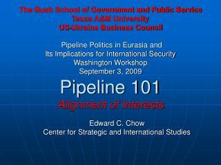 Edward C. Chow Center for Strategic and International Studies