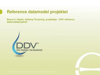 Reference datamodel projektet