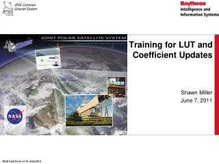 Training for LUT and Coefficient Updates