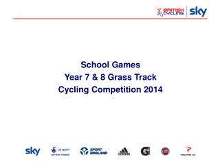 School Games Year 7 & 8 Grass Track Cycling Competition 2014