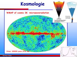 WMAP of cosmic 3K  microwaveradiation