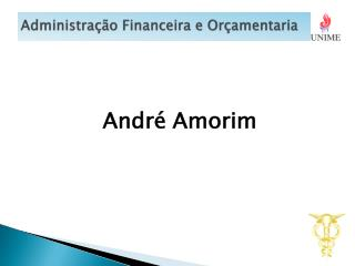 Administra��o Financeira e Or�amentaria