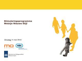 Stimuleringsprogramma  Welzijn Nieuwe Stijl