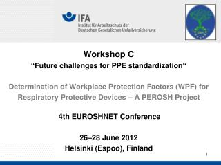 PEROSH Partners in WPF-Project
