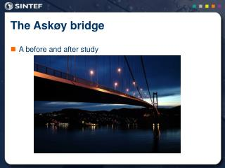 The Askøy bridge
