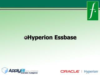 Hyperion Essbase