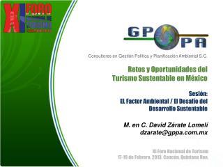 Consultores en Gestión Política y Planificación Ambiental S.C.