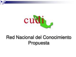 Red Nacional del Conocimiento Propuesta