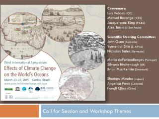 Call for Session and Workshop Themes