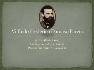 Vilfredo Frederico Damaso Pareto