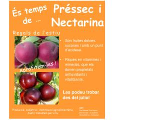 Préssec  i Nectarina