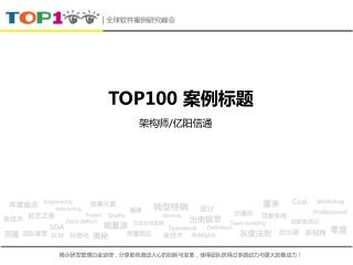 TOP100  案例标题