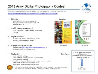 2013 Army Digital Photography Contest