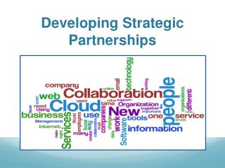 Developing Strategic Partnerships