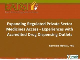 Romuald Mbwasi, PhD