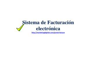 Sistema de Facturación electrónica marketingdigitals/portal-facture
