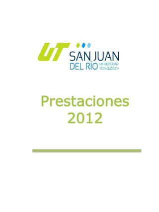 Prestaciones  2012