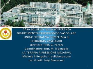 CARATTERISTICHE  DELL' UNITA' OPERATIVA 20  posti letto Pazienti extra regionali