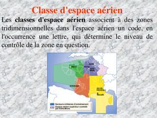 Classe d'espace aérien
