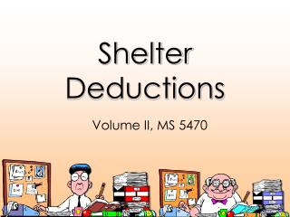 Shelter Deductions