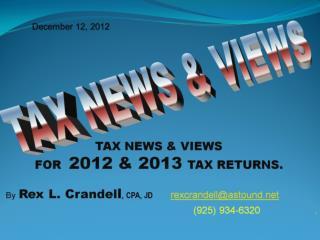 December 12, 2012