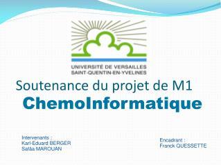 Soutenance du projet de M1