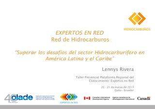 EXPERTOS EN RED  Red de Hidrocarburos