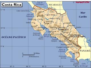 Capital : Provincia de San José Currency : Colón President : Laura Chinchilla