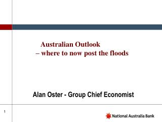 Alan Oster - Group Chief Economist