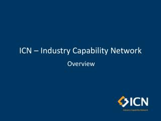 ICN – Industry Capability Network