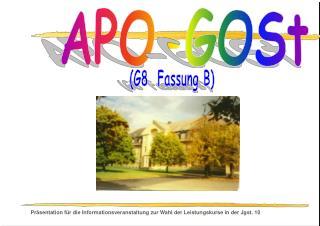 APO-GOSt