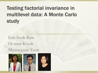 Testing factorial invariance in multilevel data: A Monte Carlo study