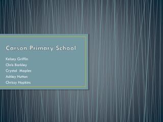 Carson Primary School