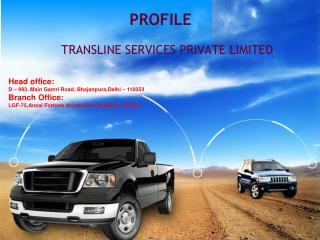 TRANSLINE SERVICES PRIVATE LIMITED