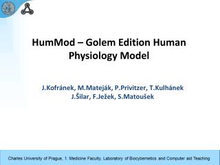 HumMod – Golem Edition  Human Physiology Model