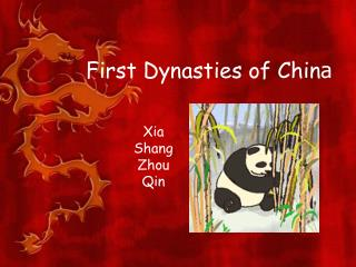 First Dynasties of Chin a