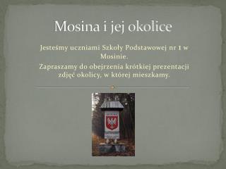Mosina i jej okolice
