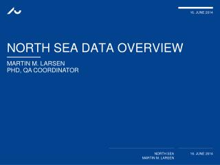 North SEA data  overview