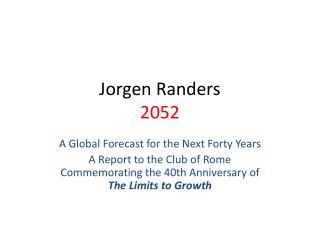 Jorgen Randers 2052