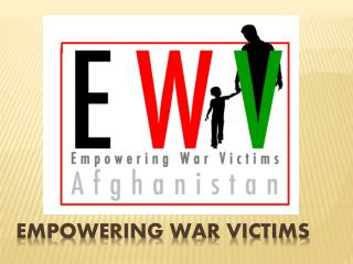 Empowering War Victims