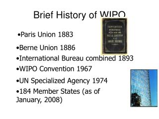 Brief History of WIPO