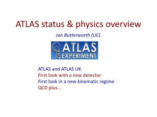 ATLAS status & physics overview
